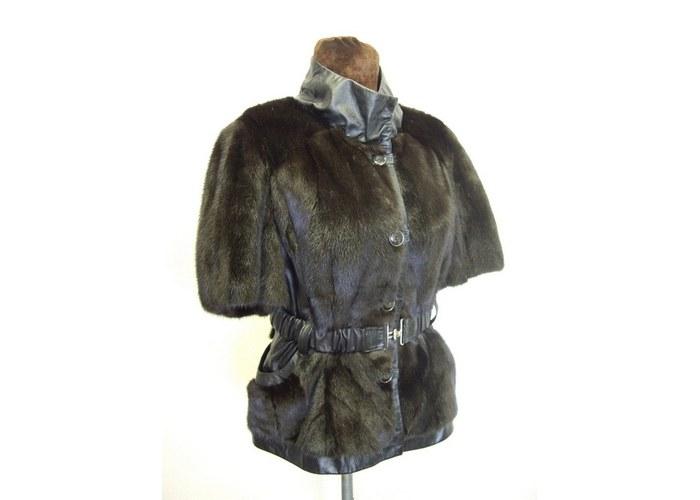 Воротник для кожаной куртки
